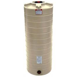 200 Gallon Beige Vertical Water Storage Tank