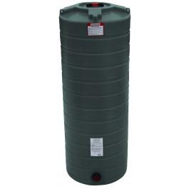 200 Gallon Dark Green Vertical Water Storage Tank
