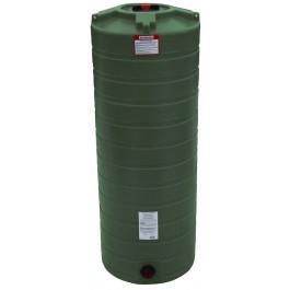 200 Gallon Mist Green Vertical Water Storage Tank