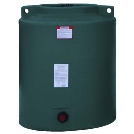210 Gallon Dark Green Vertical Water Storage Tank