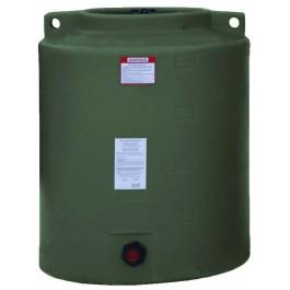 210 Gallon Mist Green Vertical Water Storage Tank