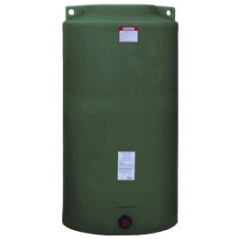 340 Gallon Mist Green Vertical Water Storage Tank