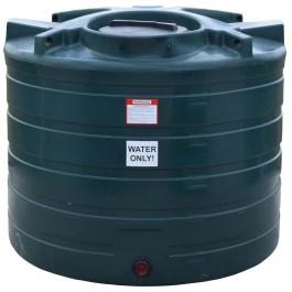 550 Gallon Dark Green Vertical Water Storage Tank