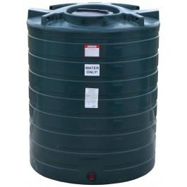 870 Gallon Dark Green Vertical Water Storage Tank