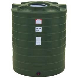 870 Gallon Mist Green Vertical Water Storage Tank