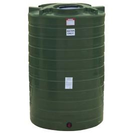 1100 Gallon Mist Green Vertical Water Storage Tank
