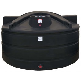 1125 Gallon Black Vertical Water Storage Tank