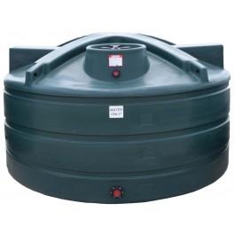 1125 Gallon Dark Green Vertical Water Storage Tank