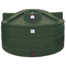 1200 Gallon Mist Green Vertical Water Storage Tank
