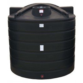 5050 Gallon Black Vertical Water Storage Tank