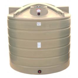 5050 Gallon Beige Vertical Water Storage Tank