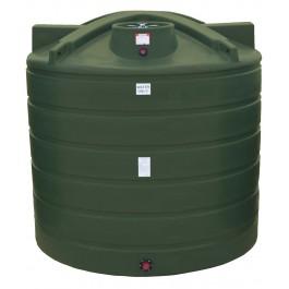 3100 Gallon Mist Green Vertical Water Storage Tank