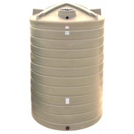 5200 Gallon Beige Vertical Water Storage Tank