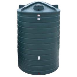 5200 Gallon Dark Green Vertical Water Storage Tank