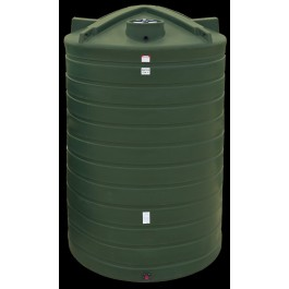 6250 Gallon Beige Vertical Water Storage Tank
