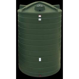 6250 Gallon Dark Green Vertical Water Storage Tank
