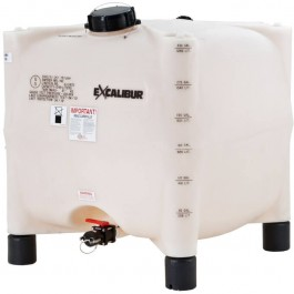 330 Gallon 1.35 SG Excalibur IBC Tote Tank