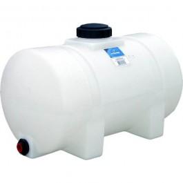 35 Gallon White Horizontal Leg Tank