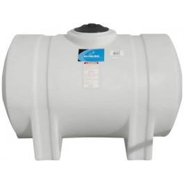 165 Gallon White Horizontal Leg Tank
