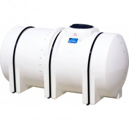 735 Gallon White Horizontal Leg Tank