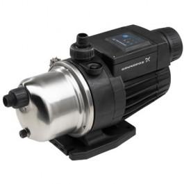 1 HP Pressure Booster Pump & Cover - Grundfos MQ3-45