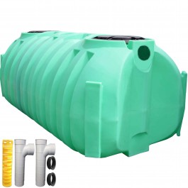 1050 Gallon Florida Approved Low Profile Septic Tank