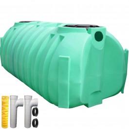 1050 Gallon Low Profile Septic Tank