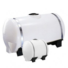 30 Gallon White Applicator Tank