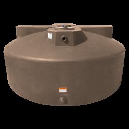 600 Gallon Mocha Vertical Water Storage Tank