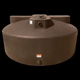 600 Gallon Dark Brown Vertical Water Storage Tank