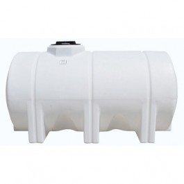 725 Gallon White Horizontal Leg Tank