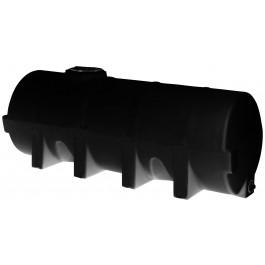 1025 Gallon Black Heavy Duty Horizontal Leg Tank