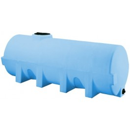 1025 Gallon Light Blue Heavy Duty Horizontal Leg Tank