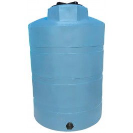 500 Gallon Light Blue Heavy Duty Vertical Storage Tank