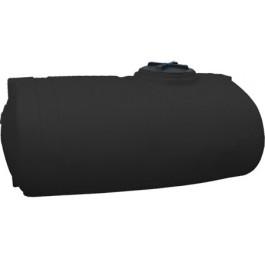 750 Gallon Black Elliptical Tank