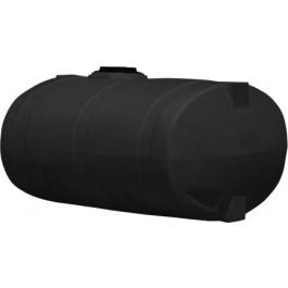 1000 Gallon Black Elliptical Tank