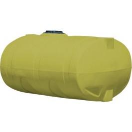 1600 Gallon Yellow Elliptical Tank