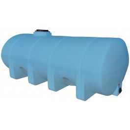 1635 Gallon Light Blue Heavy Duty Elliptical Leg Tank