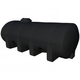 1635 Gallon Black Elliptical Leg Tank