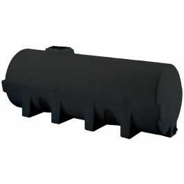 1025 Gallon Black Horizontal Leg Tank