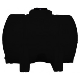 525 Gallon Black Horizontal Leg Tank