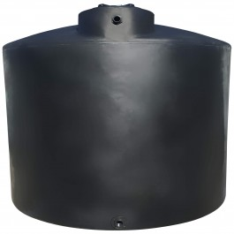 7750 Gallon Black Vertical Water Storage Tank