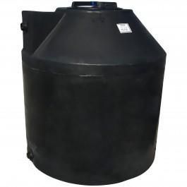 305 Gallon Black Vertical Water Storage Tank