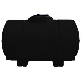 325 Gallon Black Horizontal Leg Tank