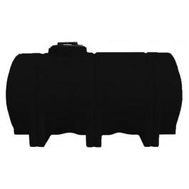 725 Gallon Black Horizontal Leg Tank