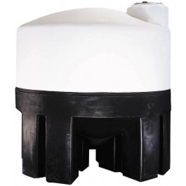 1600 Gallon Cone Bottom Tank with Poly Stand