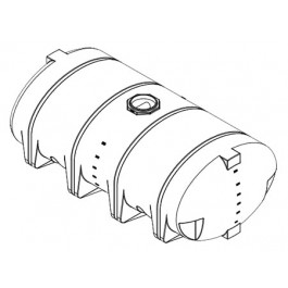 3210 Gallon Drainable Leg Tank