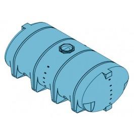 3210 Gallon Light Blue Heavy Duty Drainable Leg Tank