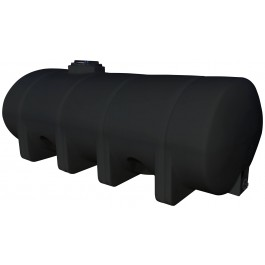 1625 Gallon Black Horizontal Leg Tank
