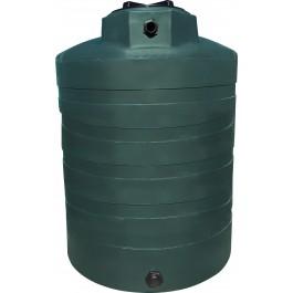 1350 Gallon Dark Green Vertical Water Storage Tank
